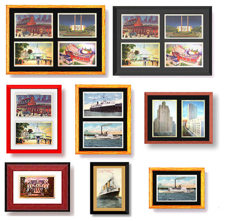 Postcard Display Frames